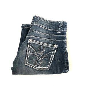 Wrangler 10MWZPE Women's Denim Jeans Size W3 X L34